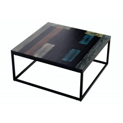 TABLE BASSE RECYCLEE - 80 X...