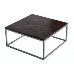TABLE BASSE PATCHWORK -...