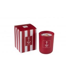 Bougie parfumée Ancre rouge S